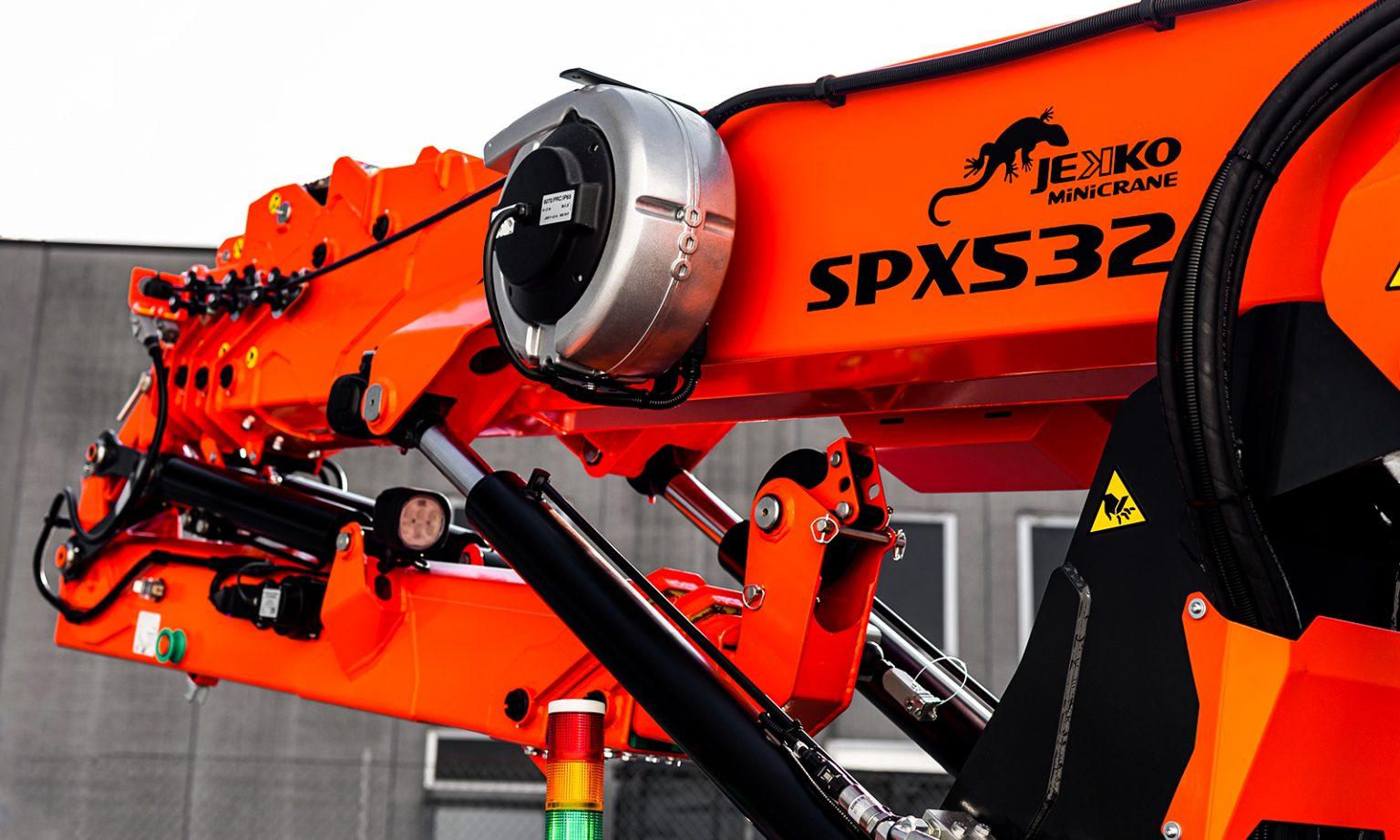 SPX532 nuova generazione di mini gru