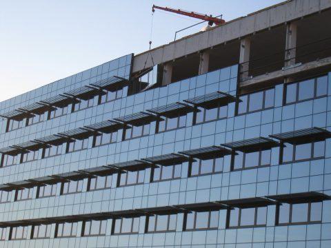 Installazione cellule vetro-facciate