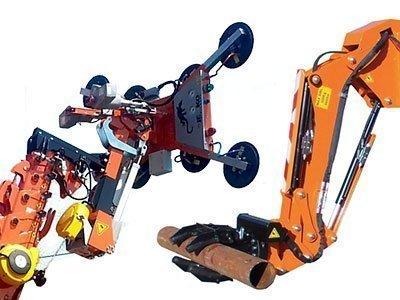Hydraulic Vacuun and Grabber Manipulator
