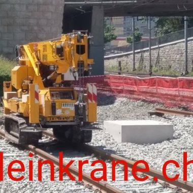 Works on railway tracks
