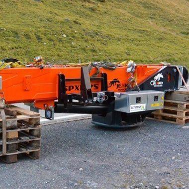 Instandhaltungsarbeiten für Seilbahnsystemen im Hochgebirge