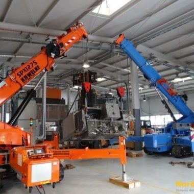 Moving of industrial machinery