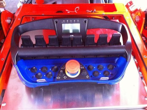 Radiocomando + 2 batterie