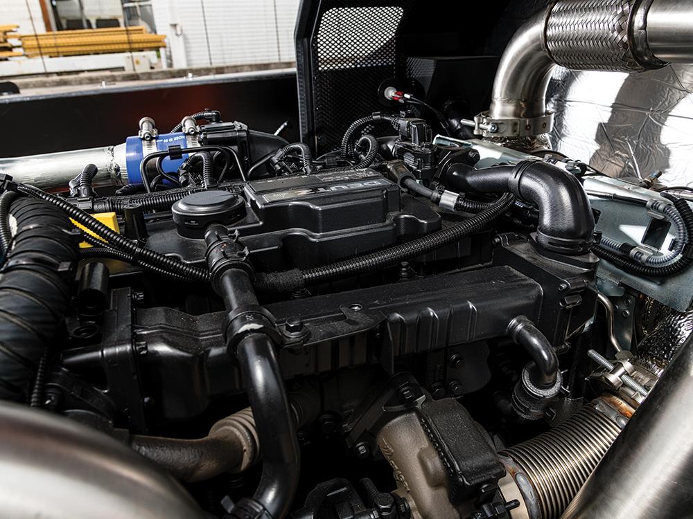 <p>Elektronischer Dieselmotor</p>