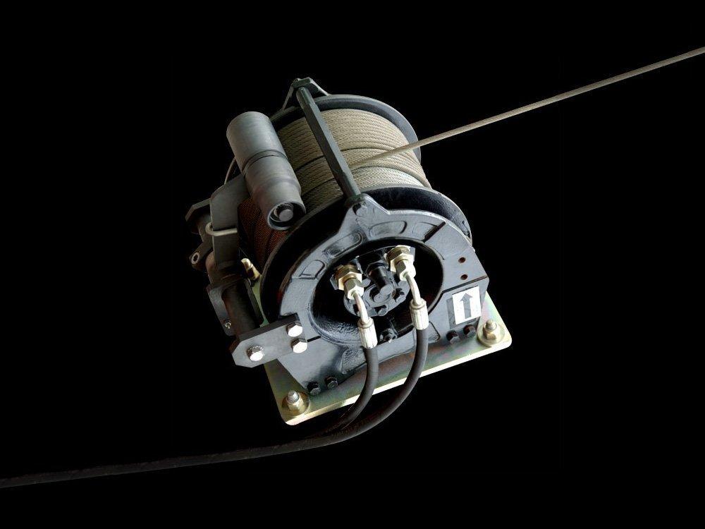 <p>Treuil, câble 125m</p>