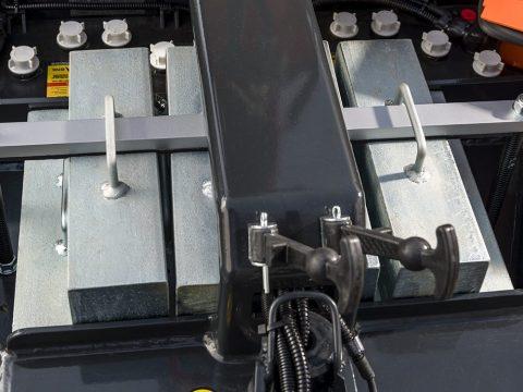 Zavorre modulari amovibili