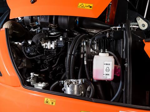 <p>Moteur diesel électronique </p>