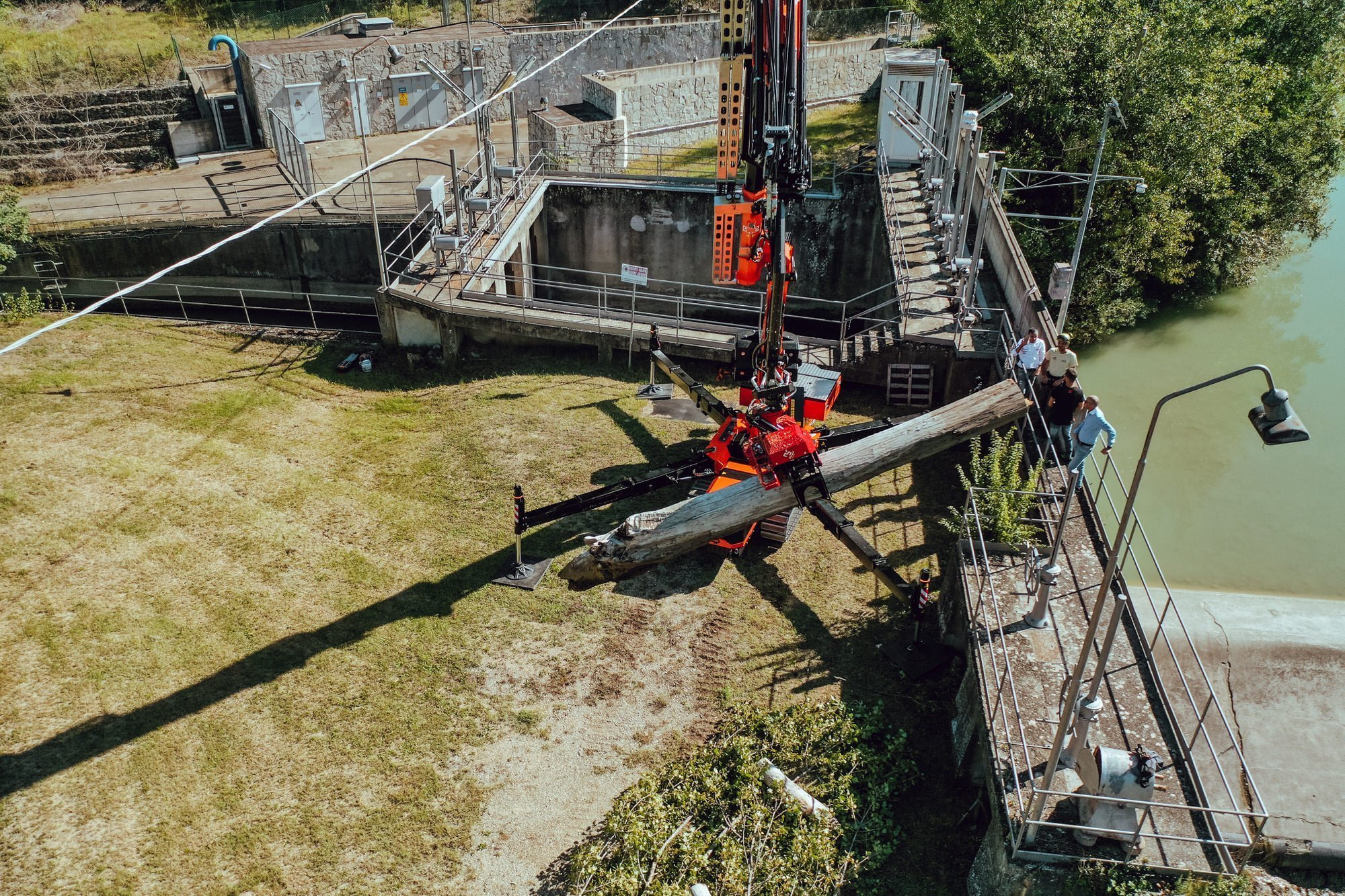 forestry mini crane JF545 vmax