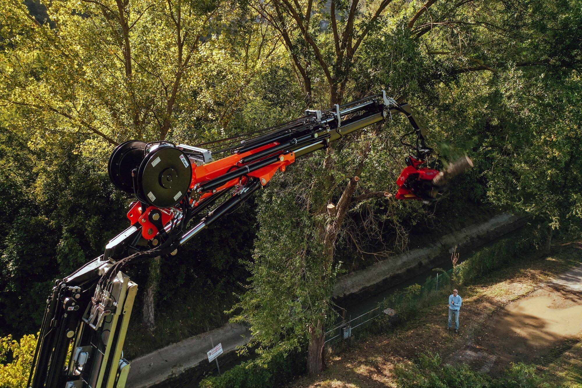 mini crane JF545 vmax