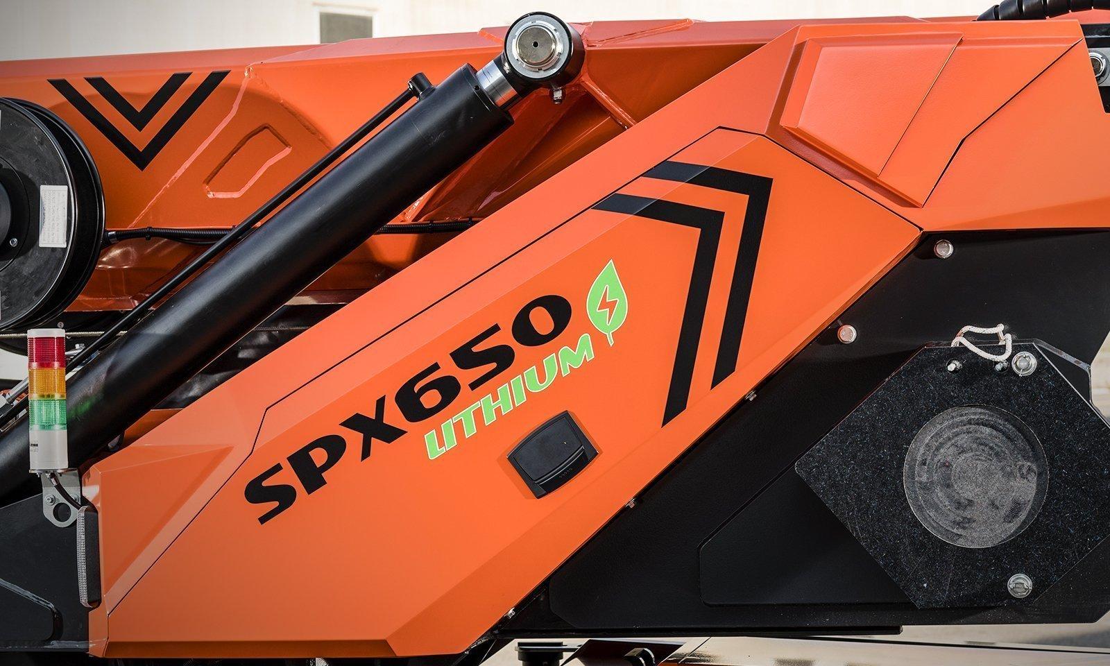 jekko minikran spx650