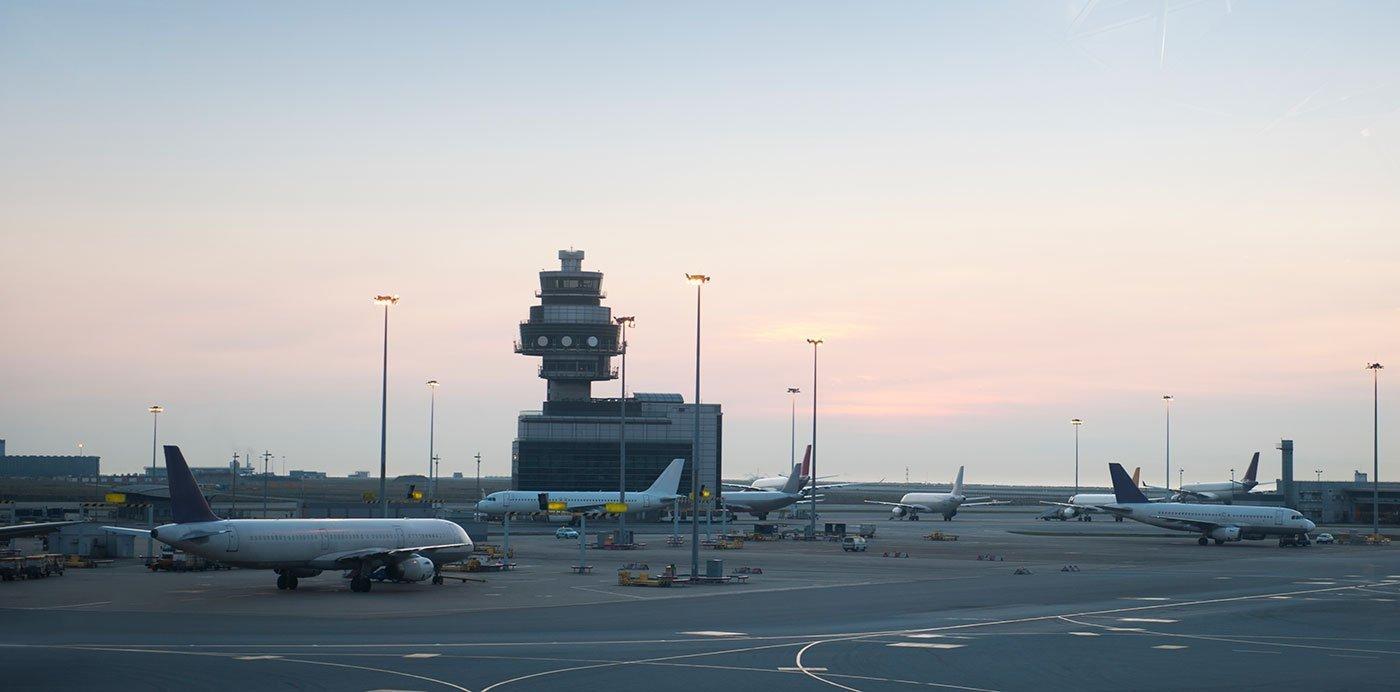 mini gru settore aviazione