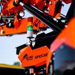 Jekko SPX532 a generation of mini cranes