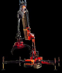 petite grue de chantier JF545