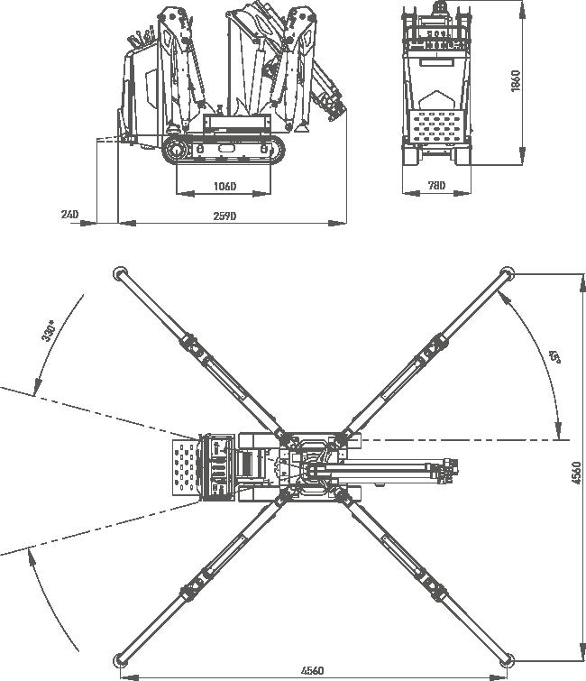 jekko minigrua jf40