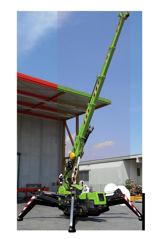 SPX424 mini kran